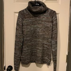 Columbia brown turtleneck sweater